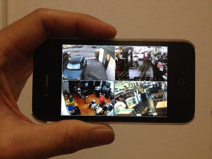 Gambar cara pantau cctv online dari HP